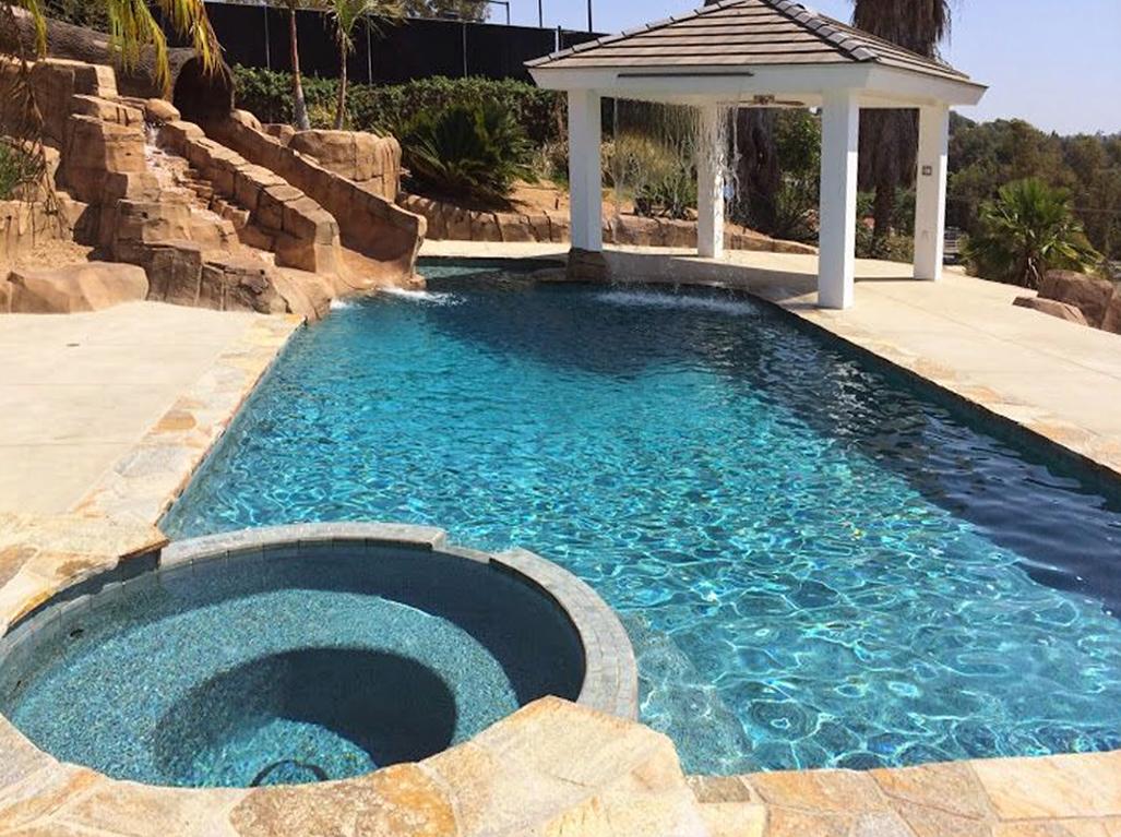 Designer Aquamarine Pool