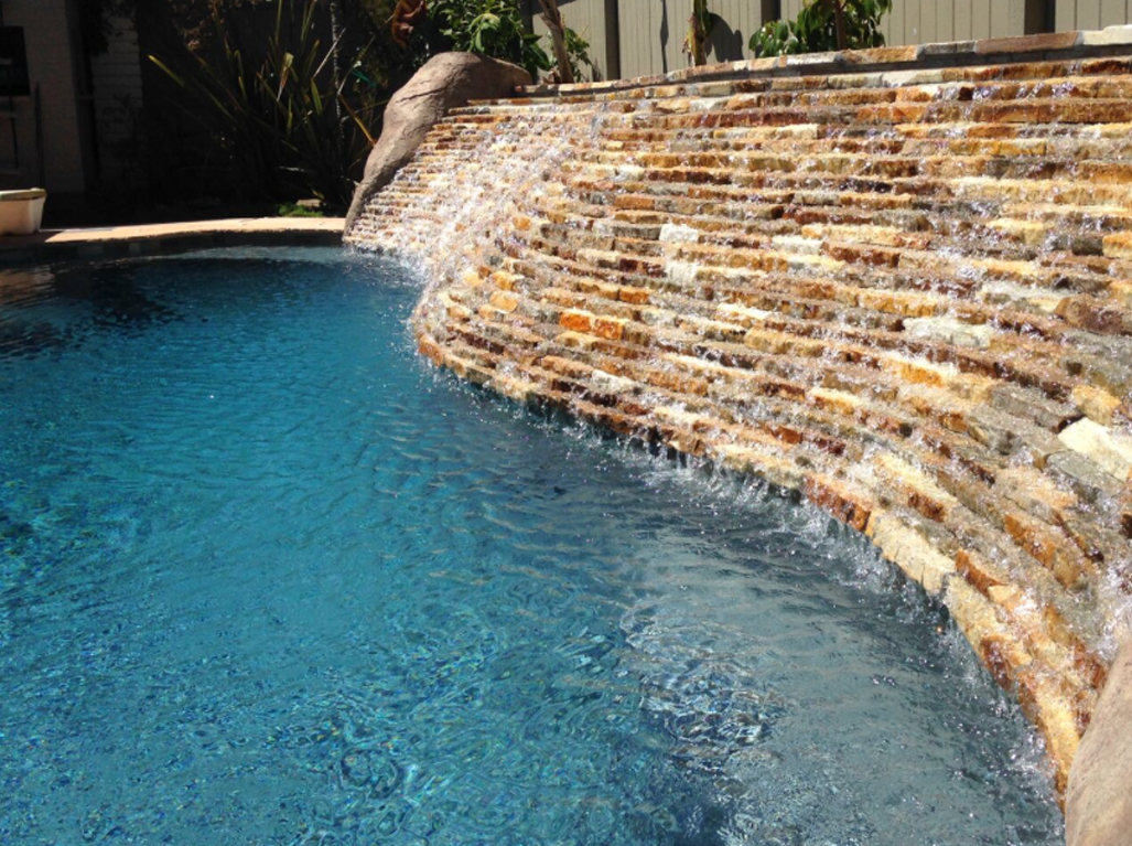 Designer Bahamas Jewel Pool with water feature