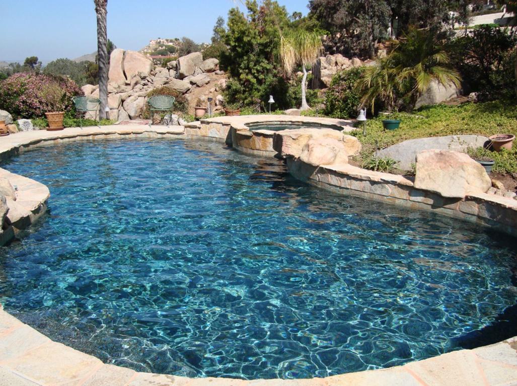 Designer Jade pool and spa