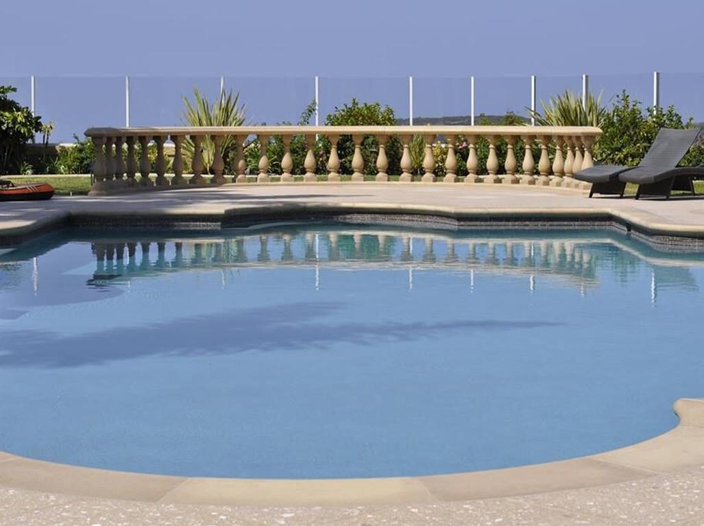 Radiant Fusion Blue Diamond Swimming Pool