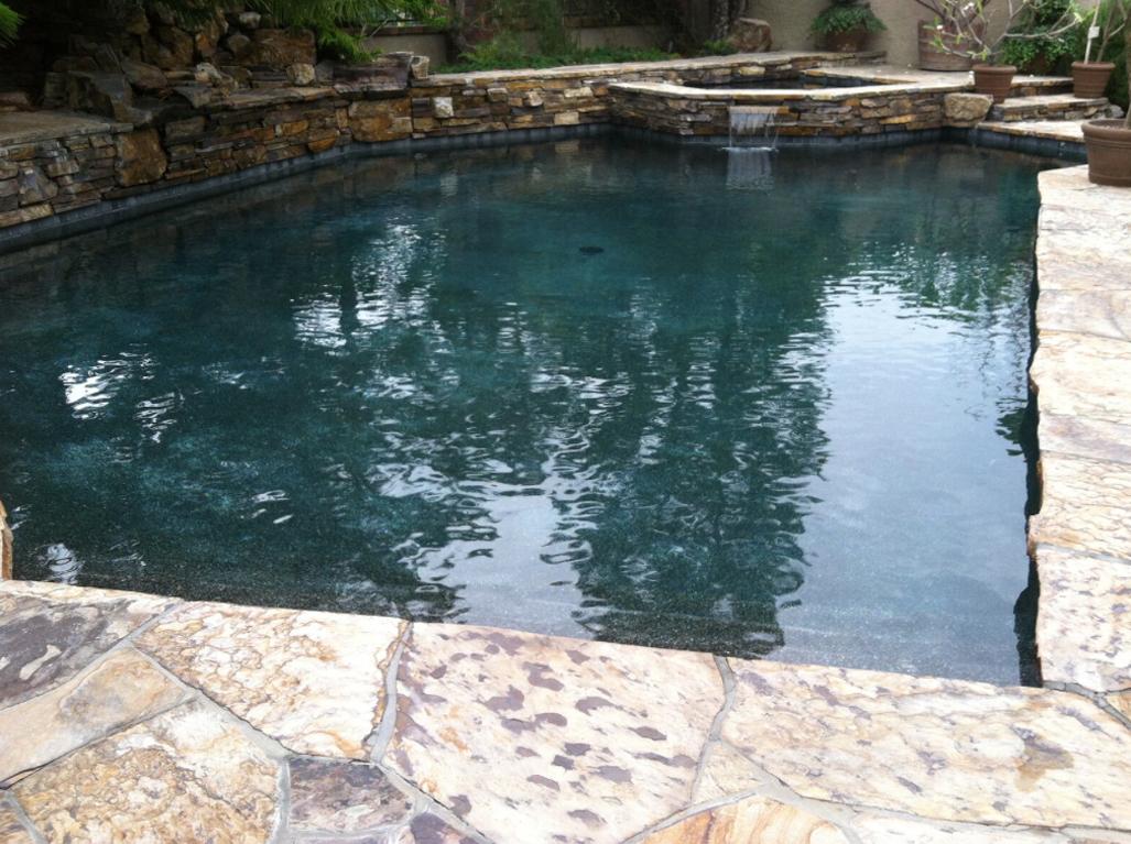 Sandstone Obsidian Pool