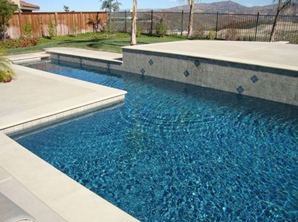 Sparkle Quartz Tahoe Swimming Pool