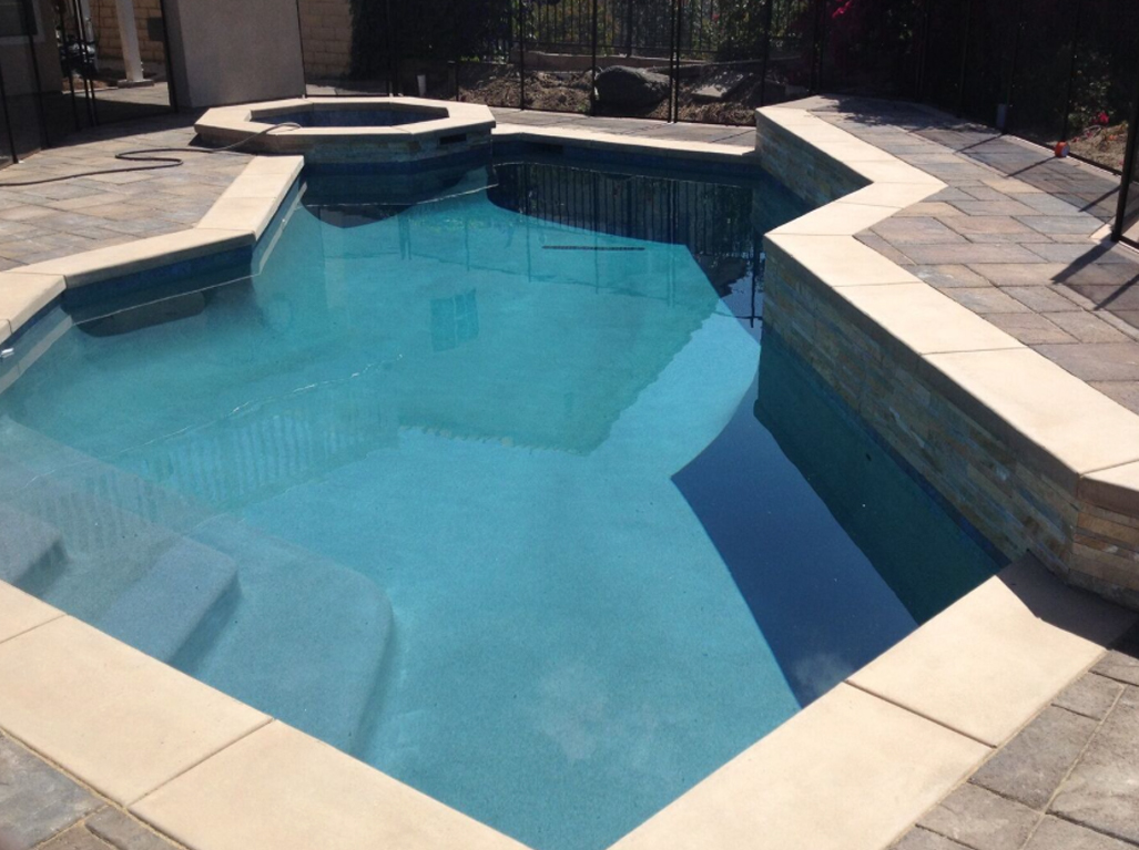 Micro Fusion Blue Diamond Pool and Spa