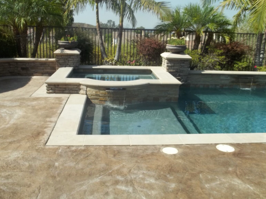 Micro Fusion Dark Grey Rectangular Pool and Spa