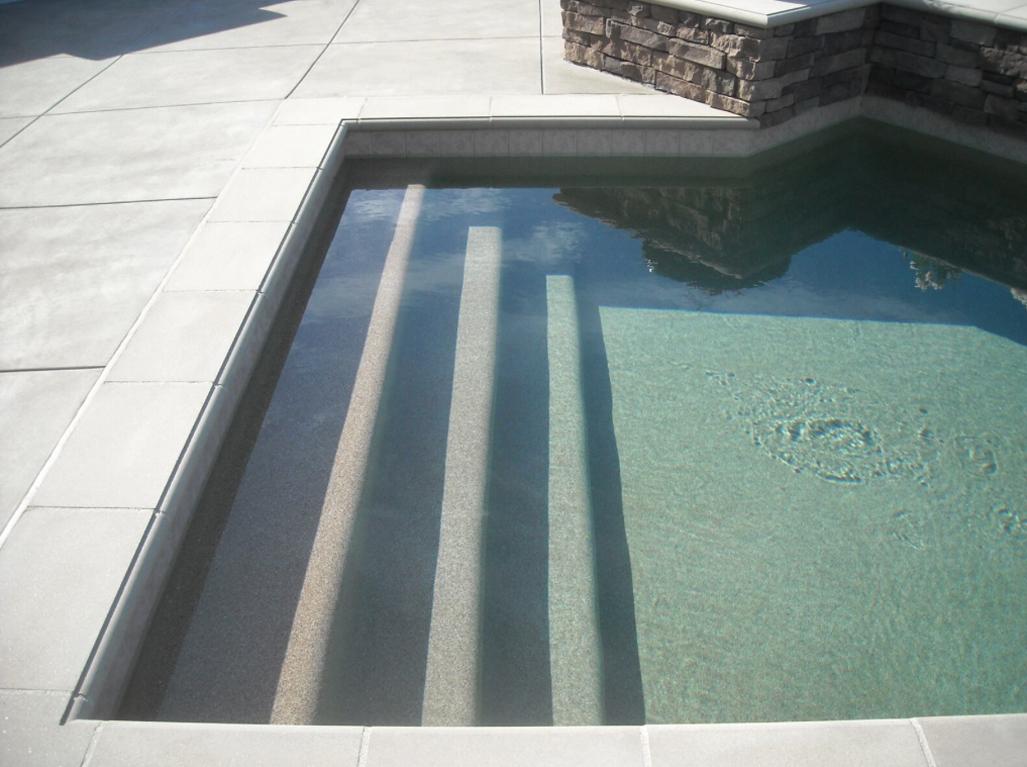 Sandstone Desert Coral Pool Steps