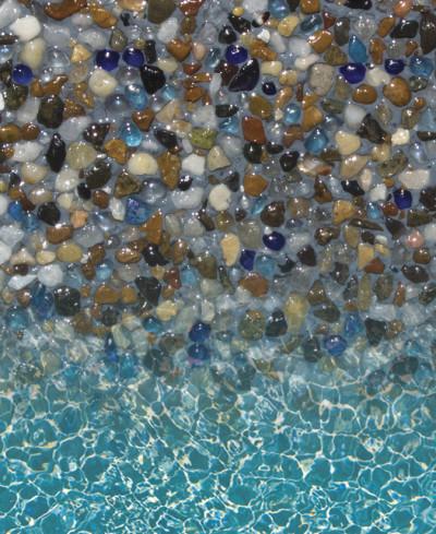 Gemstone Jewels for Pools Series - Tigers Eye Lagoon